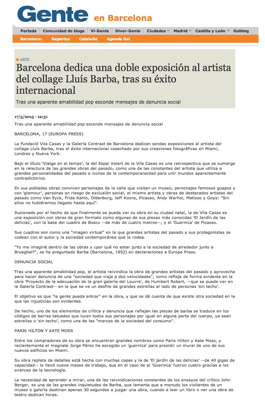 Press : Lluís Barba