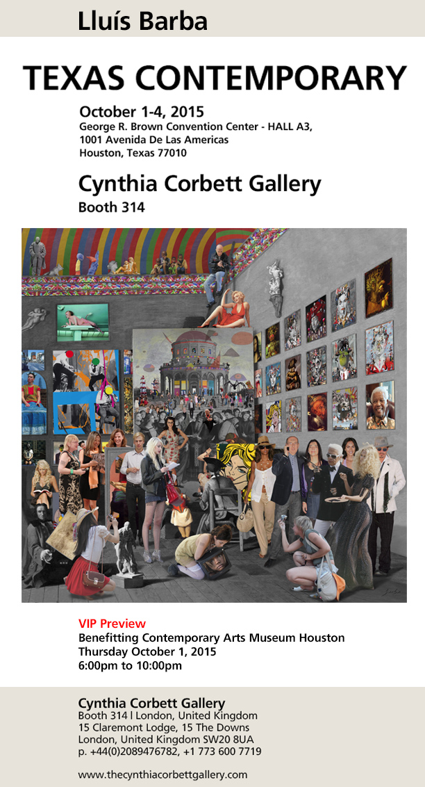 TEXAS Cynthia Corbett Gallery 2015 October
