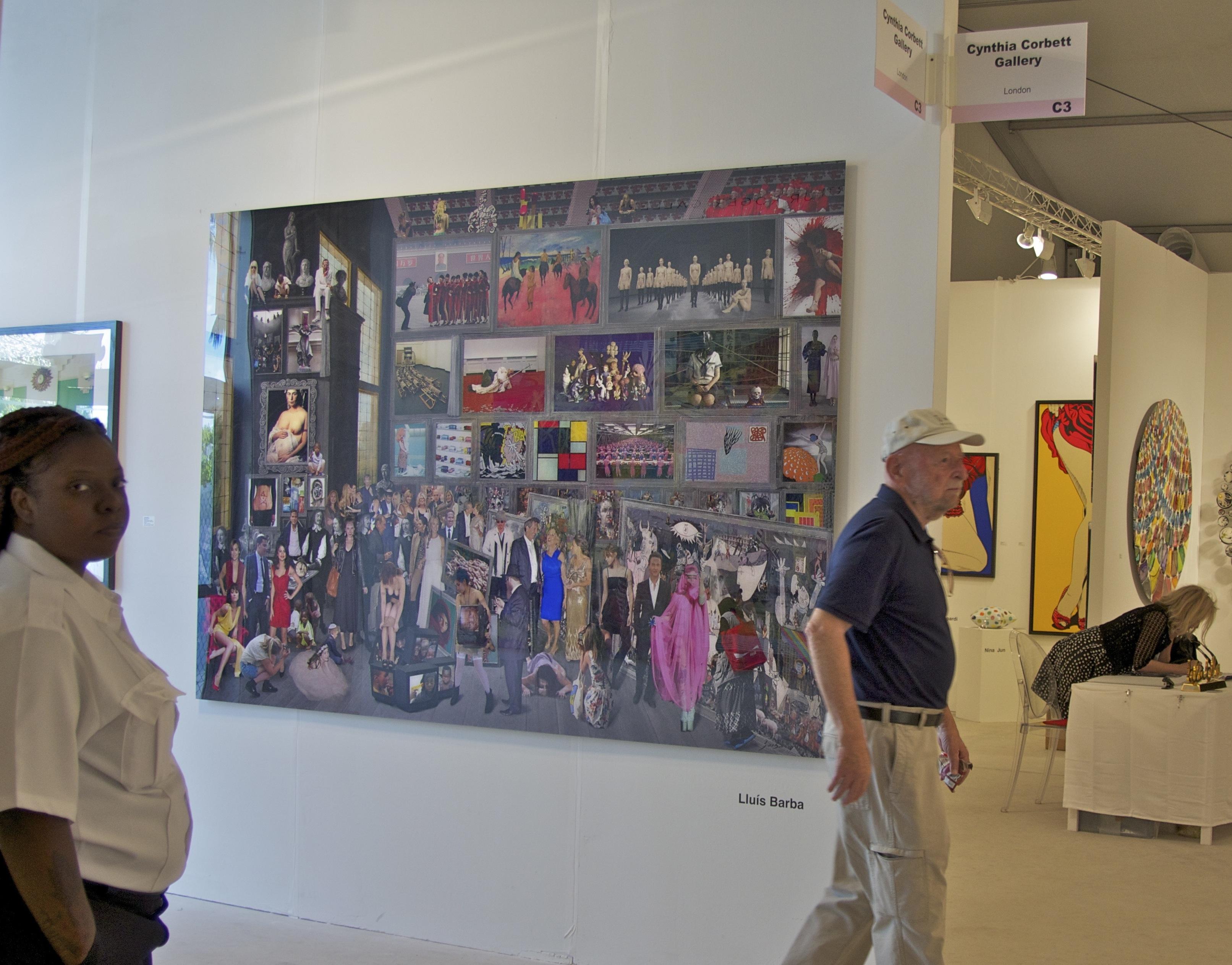 Cynthia Corbett Art Miami 2