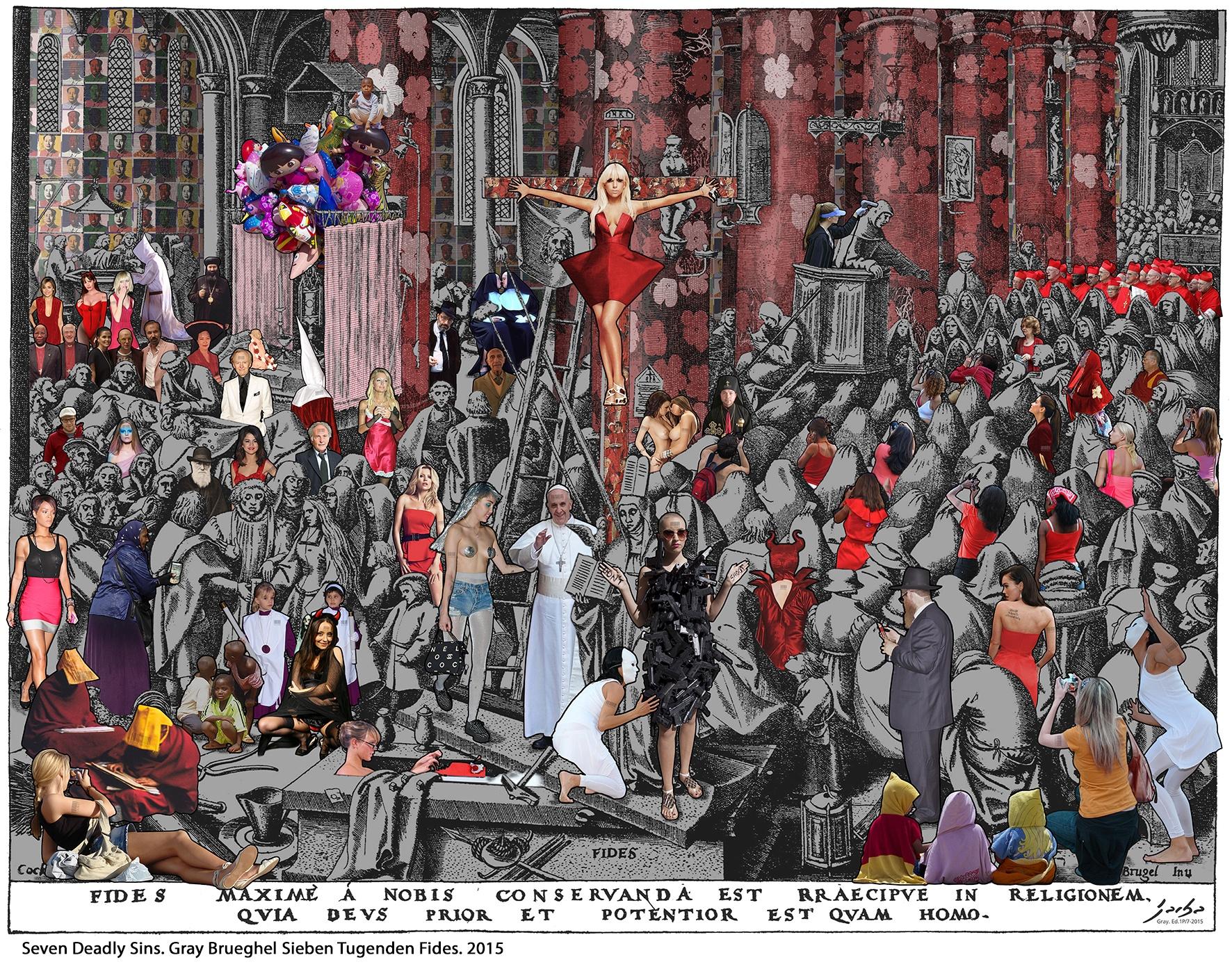 2015-1 Gray Brueghel Sieben Tugenden Fides